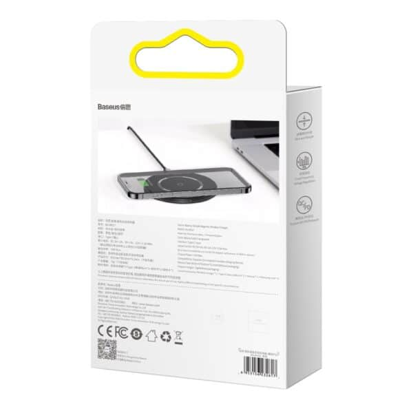 Baseus-Simple-Magnetic-Wireless-Chargersuit-for-IP12-Black-4