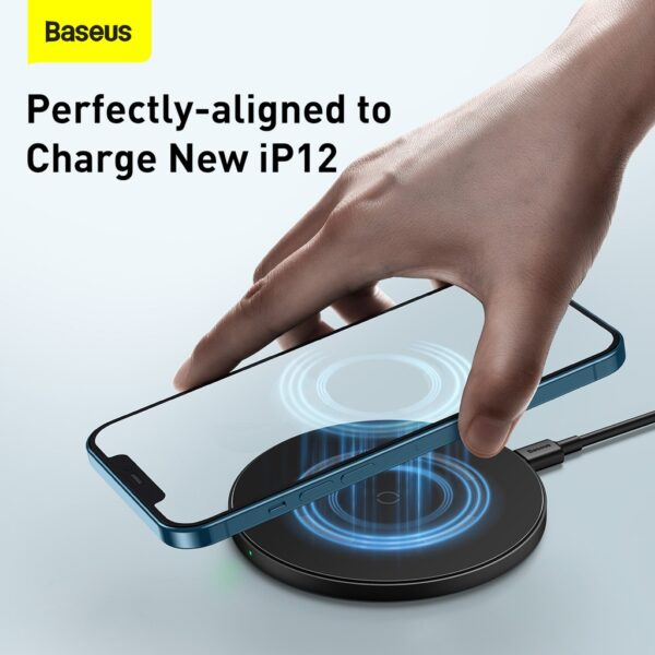 Baseus-Simple-Magnetic-Wireless-Chargersuit-for-IP12-Black-5