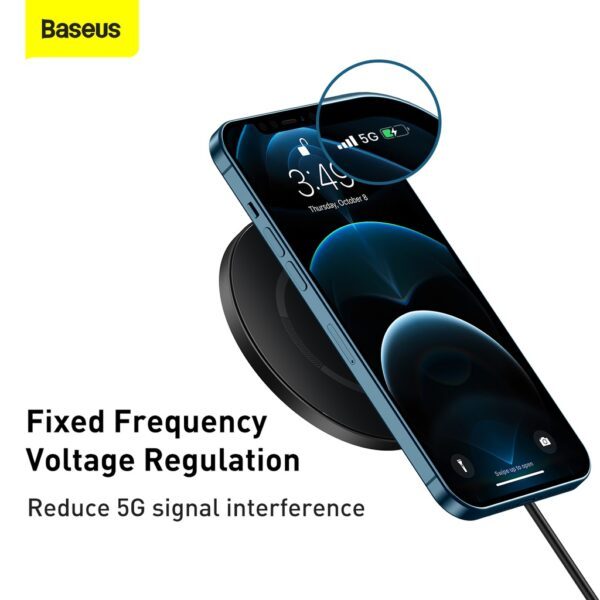 Baseus-Simple-Magnetic-Wireless-Chargersuit-for-IP12-Black-7